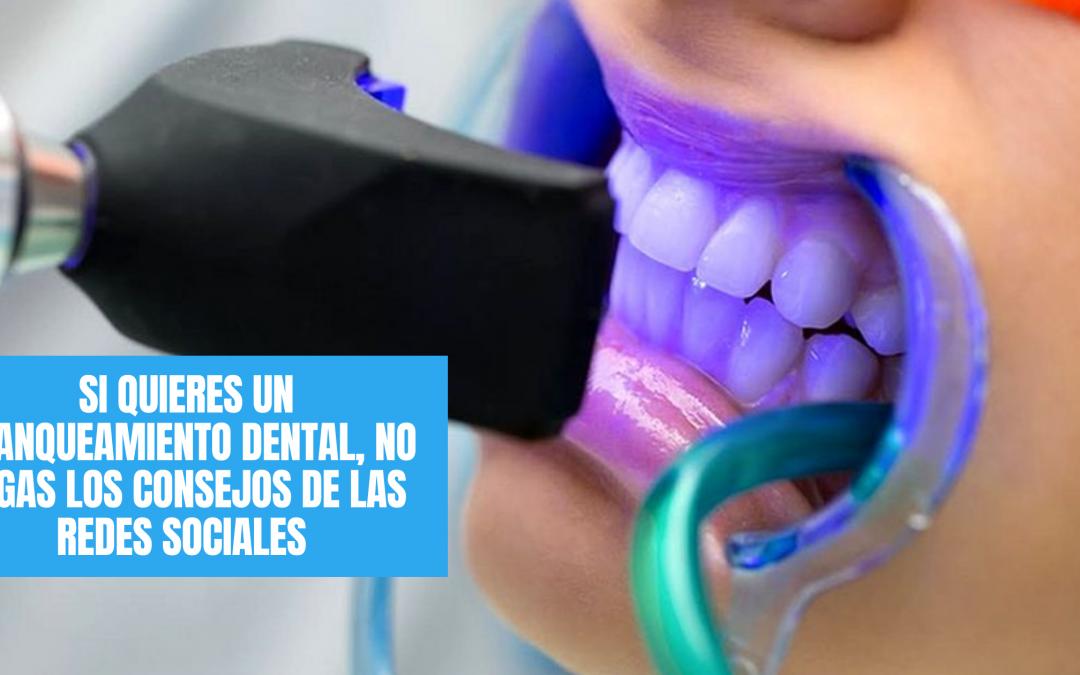 Si quieres un blanqueamiento dental, no sigas los consejos de las redes sociales